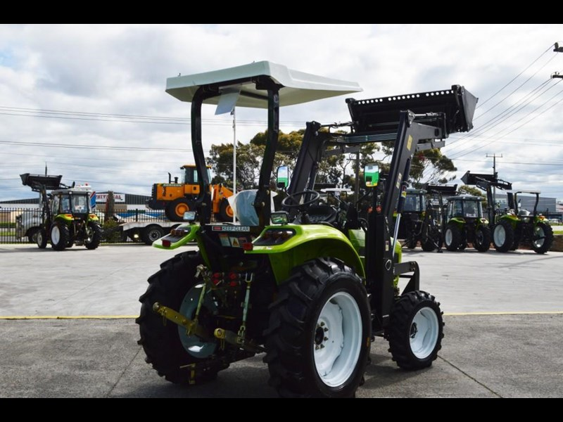 agrison 55hp ultra g3 + rops + 6ft slasher + front end loader (fel) + 4in1 bucket 429473 019