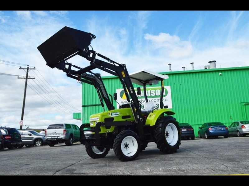 agrison 55hp ultra g3 + rops + 6ft slasher + front end loader (fel) + 4in1 bucket 429473 021
