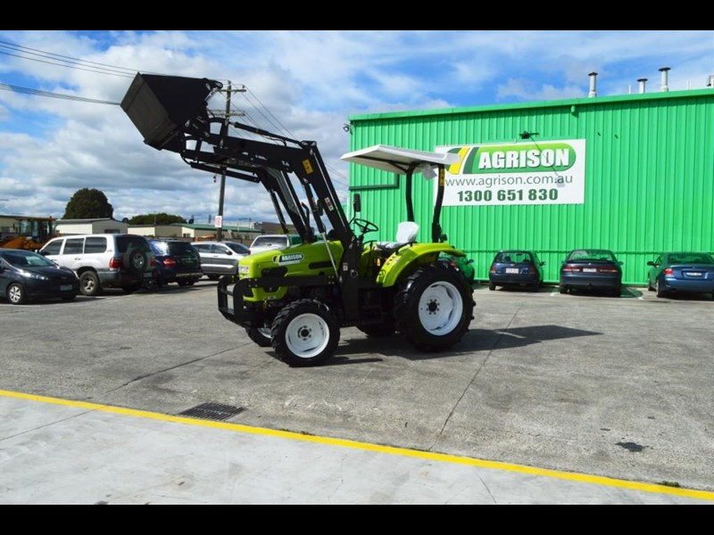agrison 55hp ultra g3 + rops + 6ft slasher + front end loader (fel) + 4in1 bucket 429473 023