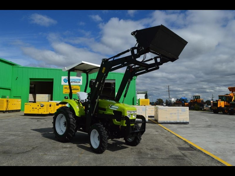 agrison 55hp ultra g3 + rops + 6ft slasher + front end loader (fel) + 4in1 bucket 429473 047
