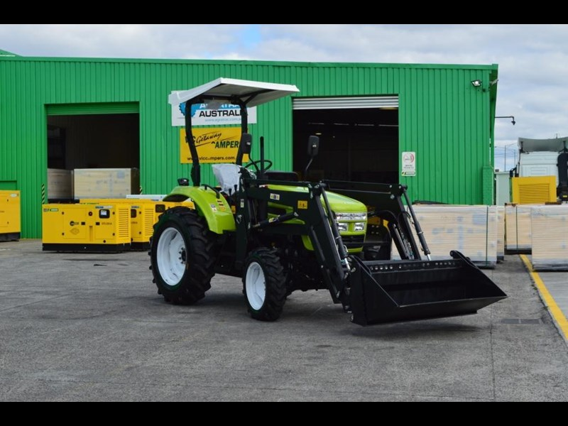 agrison 55hp ultra g3 + rops + 6ft slasher + front end loader (fel) + 4in1 bucket 429473 051