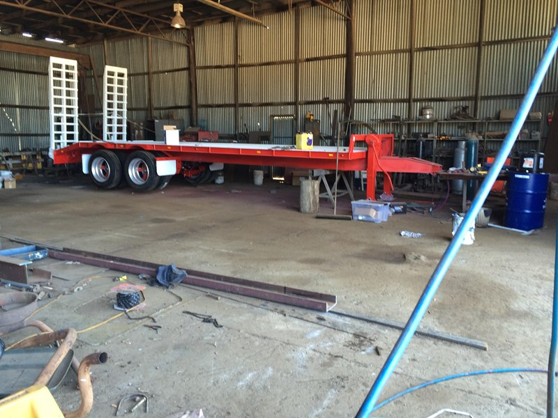 borg engineering tandem tag machinery trailer 435797 017
