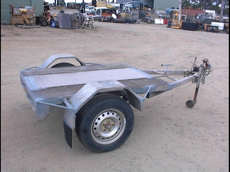 single axle trailer 437363 007