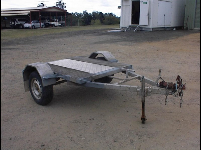 single axle trailer 437363 009