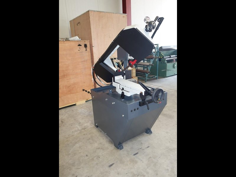eximus taiwanese manual ø225mm capacity double mitre bandsaw 437508 035