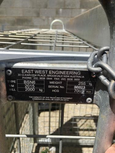 east west engineering bsn-6h brick cage 439077 007