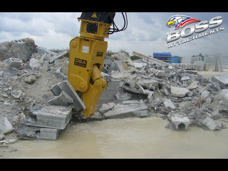 boss attachments osa rs series demolition shears  - in stock 446775 023