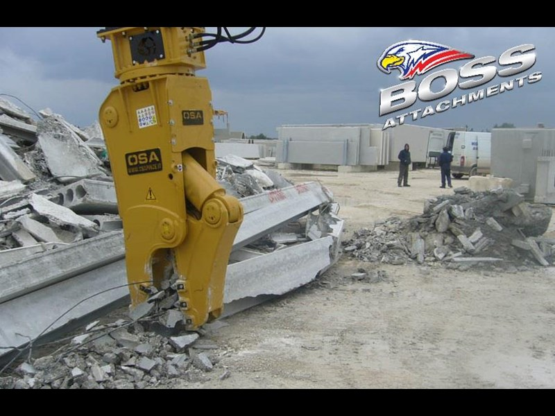 boss attachments osa rs series demolition shears  - in stock 446775 027