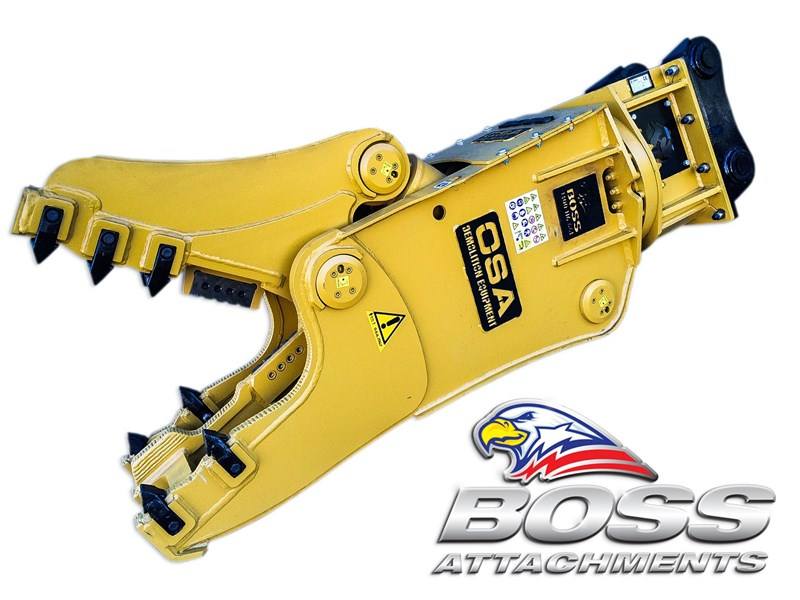 boss attachments osa rs series demolition shears  - in stock 446775 035