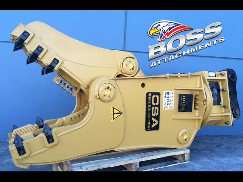 boss attachments osa rs series demolition shears  - in stock 446775 039
