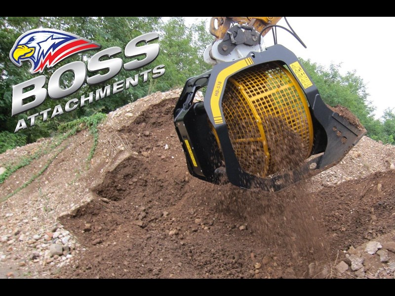 mb screen buckets boss mb s18 screening bucket - in stock 450584 011