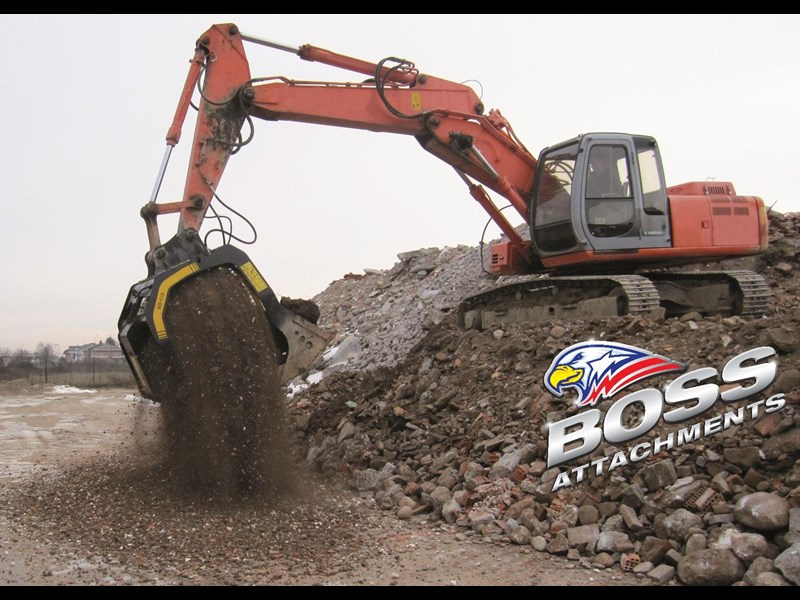 mb screen buckets boss mb s18 screening bucket - in stock 450584 009