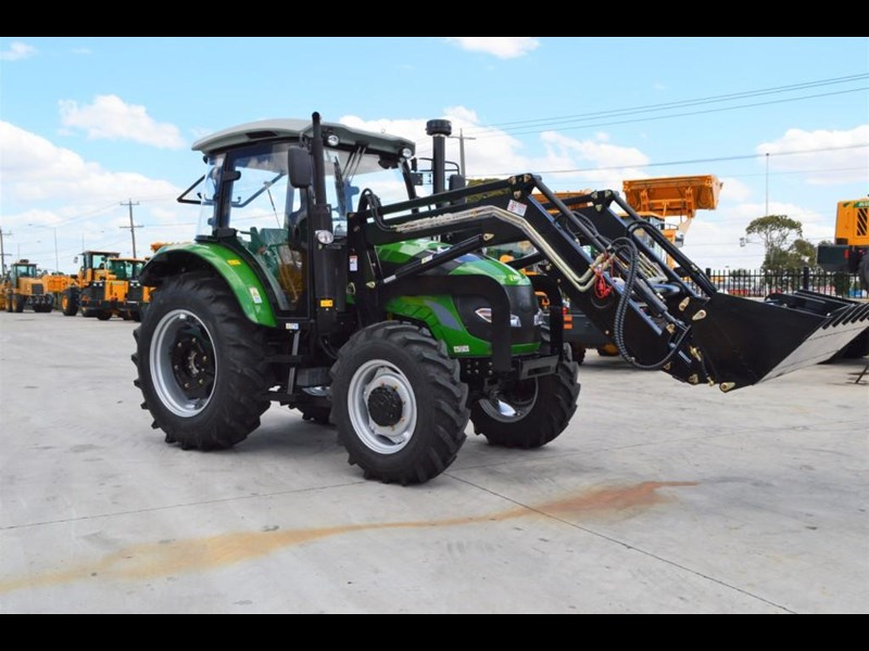 agrison 100hp cdf + 4 in 1 bucket + fel + tinted windows 455237 021