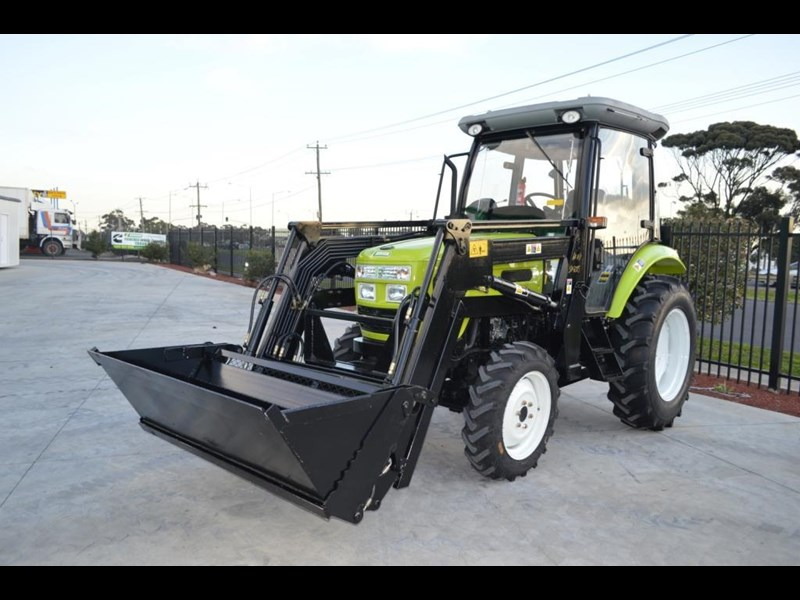 agrison agrison 60hp ultra g3 + turbo + aircon + 6ft slasher + tinted windows 129373 001
