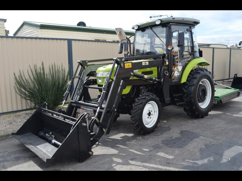 agrison agrison 60hp ultra g3 + turbo + aircon + 6ft slasher + tinted windows 129373 039