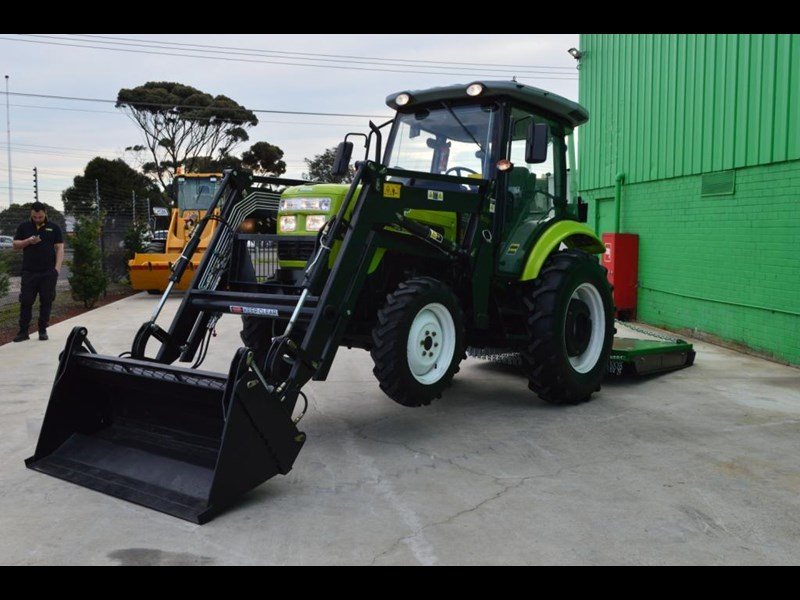 agrison agrison 60hp ultra g3 + turbo + aircon + 6ft slasher + tinted windows 129373 061