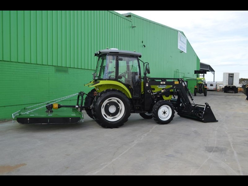 agrison agrison 60hp ultra g3 + turbo + aircon + 6ft slasher + tinted windows 129373 069