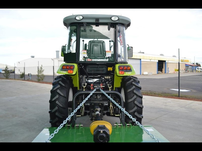 agrison agrison 60hp ultra g3 + turbo + aircon + 6ft slasher + tinted windows 129373 073