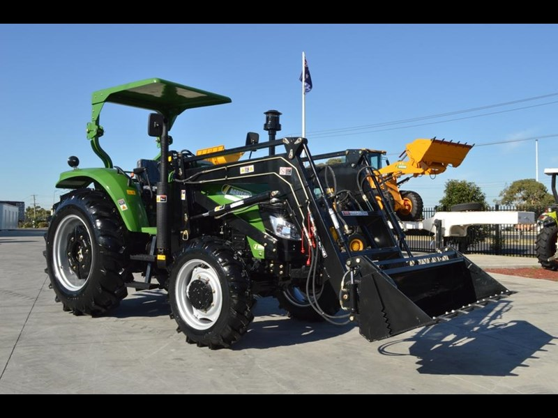 agrison 80hp cdf 4x4 4in1 bucket - 5 year warranty, free 6 ft slasher 455374 007