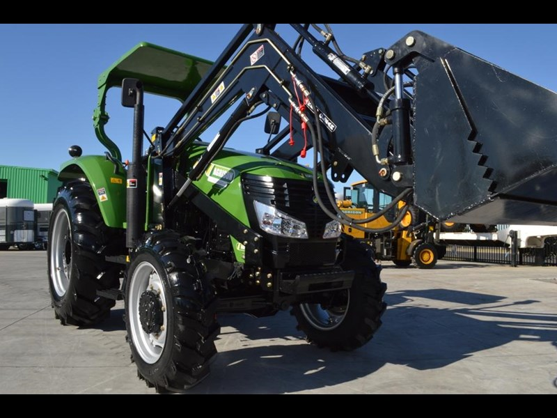 agrison 80hp cdf 4x4 4in1 bucket - 5 year warranty, free 6 ft slasher 455374 017