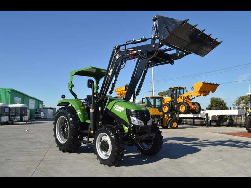 agrison 80hp cdf 4x4 4in1 bucket - 5 year warranty, free 6 ft slasher 455374 021