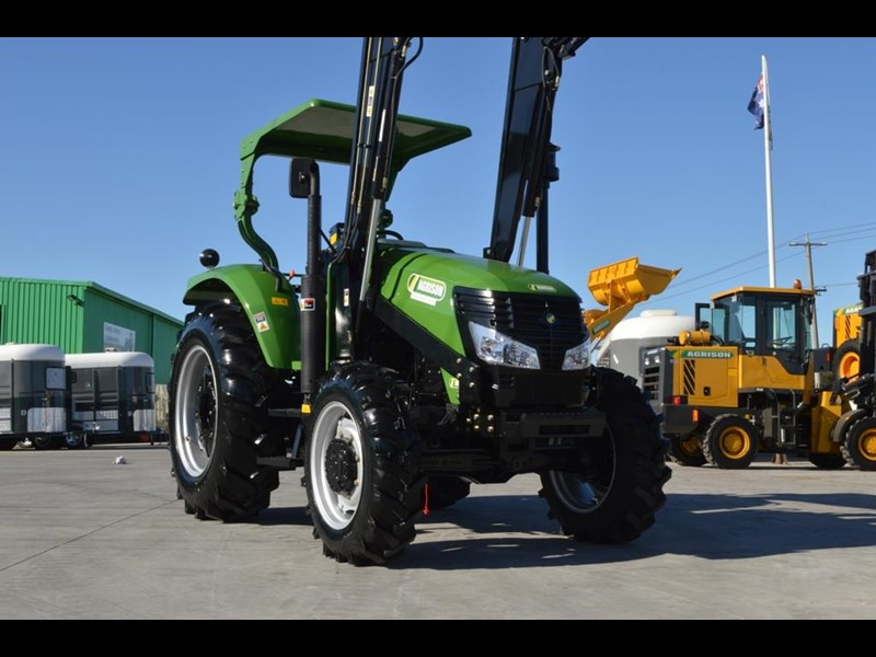 agrison 80hp cdf 4x4 4in1 bucket - 5 year warranty, free 6 ft slasher 455374 025
