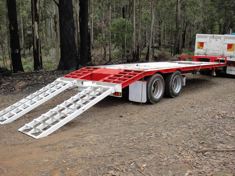 borg engineering tandem tag machinery trailer 435797 001