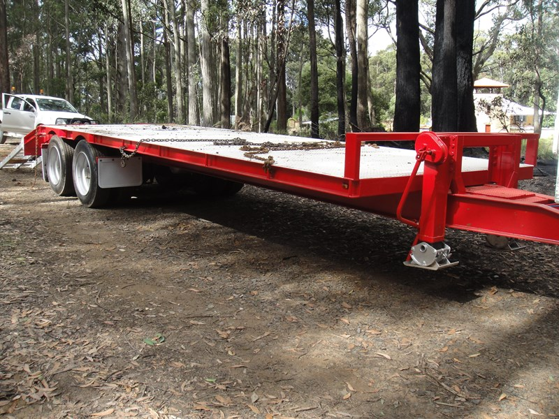 borg engineering tandem tag machinery trailer 435797 011