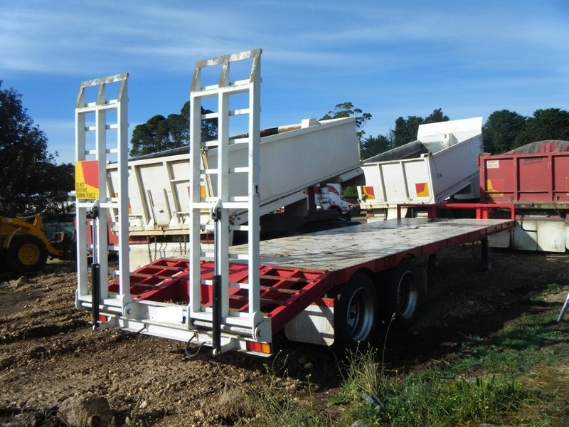 borg engineering tandem tag machinery trailer 435797 005