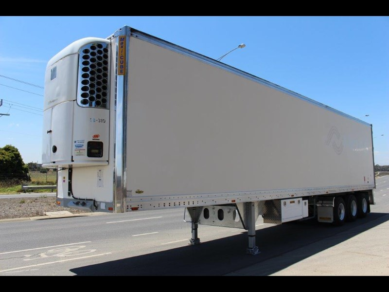 maxi-cube st3 tri axle -30 reefer double stacker r/t rated 449187 001