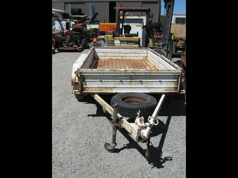 custom tandem box trailer 461394 007