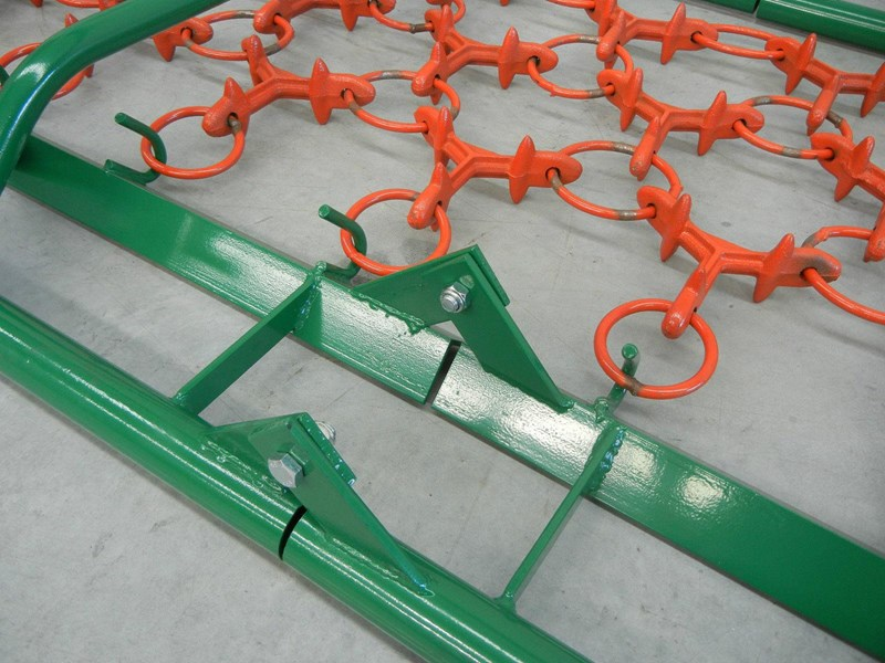 hayes 16.5ft tractor pasture harrows - 3 point linkage folding 3pl 467704 013