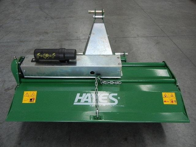 hayes pto tractor rotary hoe/tiller 4ft standard duty - 3 point linkage 467833 009