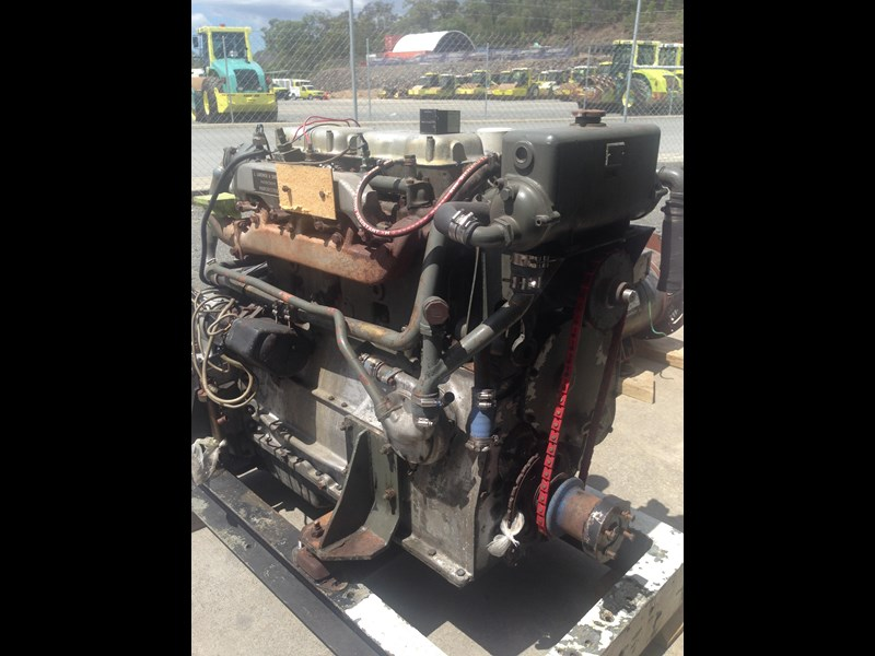**new listing** gardner 4lw genset with auxiliary drive 470892 003