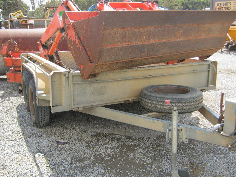 major trailers tandem trailer heavy duty 472601 009
