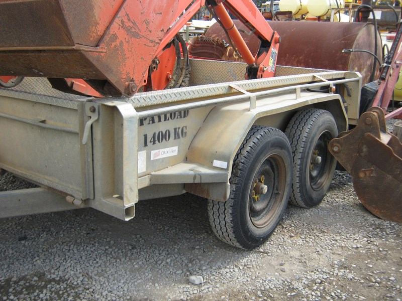 major trailers tandem trailer heavy duty 472601 011