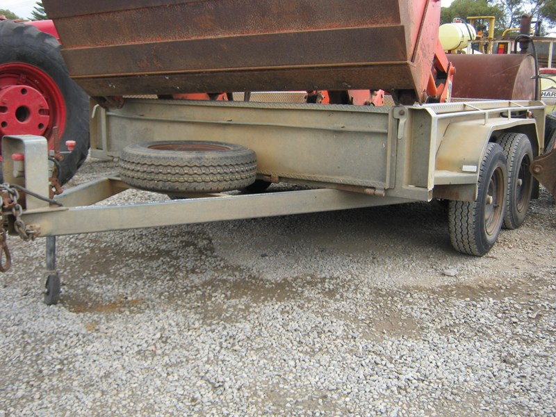 major trailers tandem trailer heavy duty 472601 001