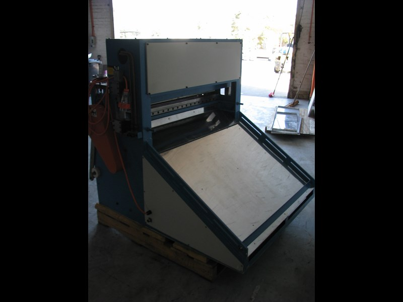 other industrial sheet roll sheeter guillotine - 1m long blade 474808 009