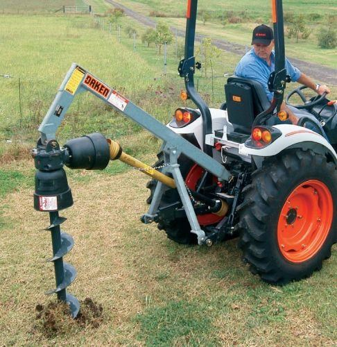 "other ""little ripper"" post hole digger 25hp 475442 001"