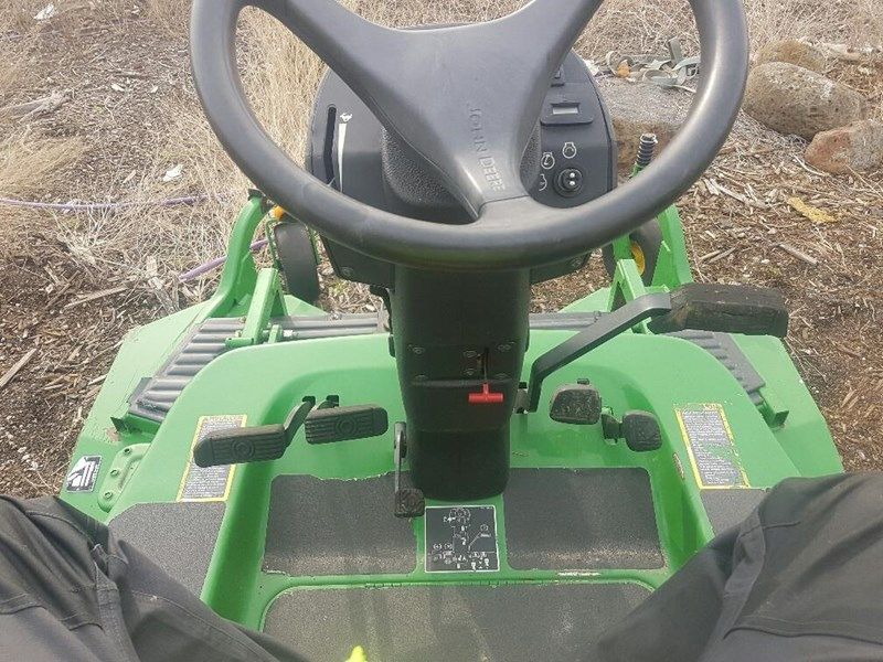 "john deere 1445 series 2 ,4wd 72"" rear discharge commercial mower 494499 003"