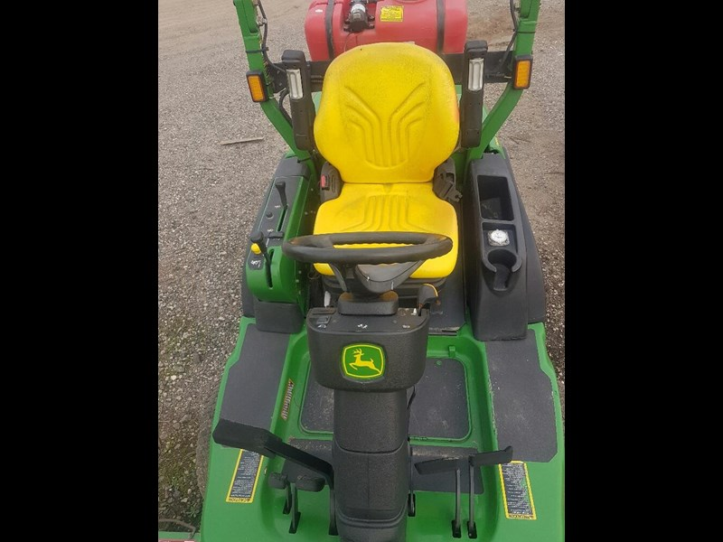 "john deere 1445 series 2 ,4wd 72"" rear discharge commercial mower 494499 013"