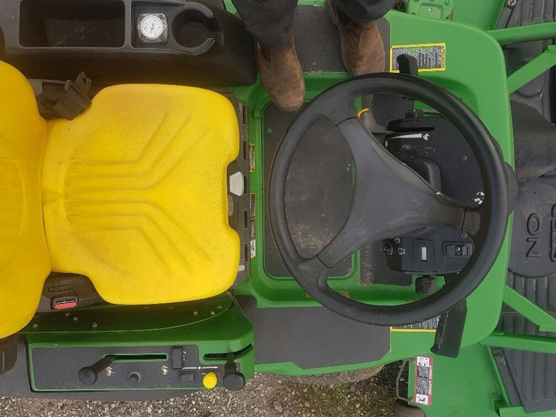 "john deere 1445 series 2 ,4wd 72"" rear discharge commercial mower 494499 021"
