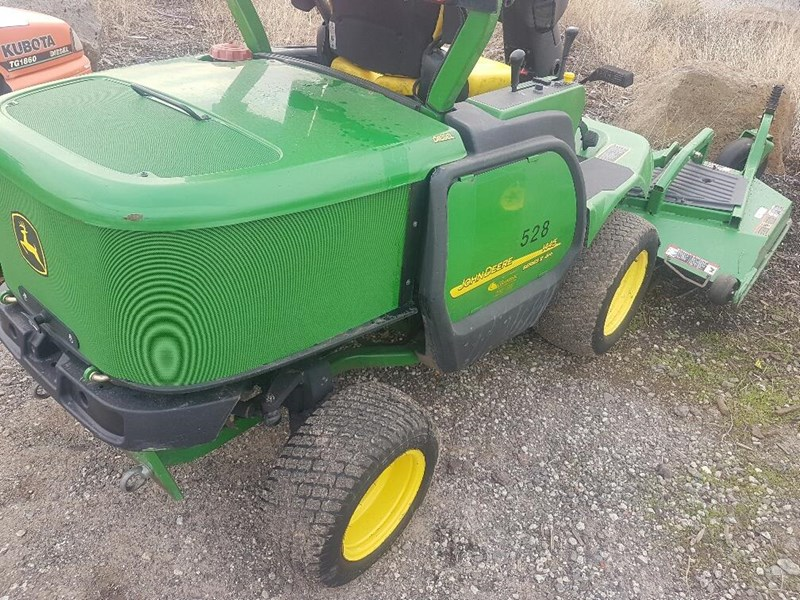 "john deere 1445 series 2 ,4wd 72"" rear discharge commercial mower 494499 001"