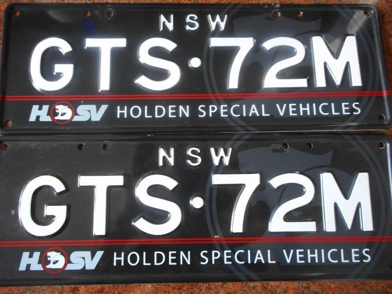 number plates gts72m 495606 003