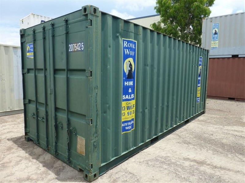 "20"" shipping container 20"" shipping container 499207 009"