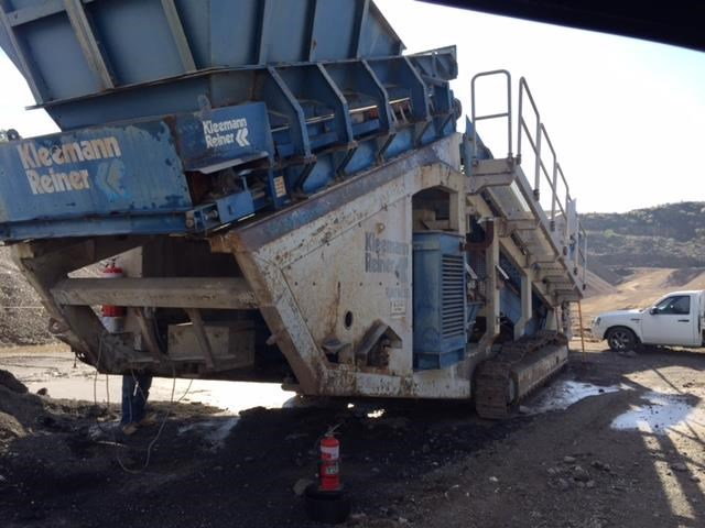 kleemann crushing & screening mobile plant 501420 003
