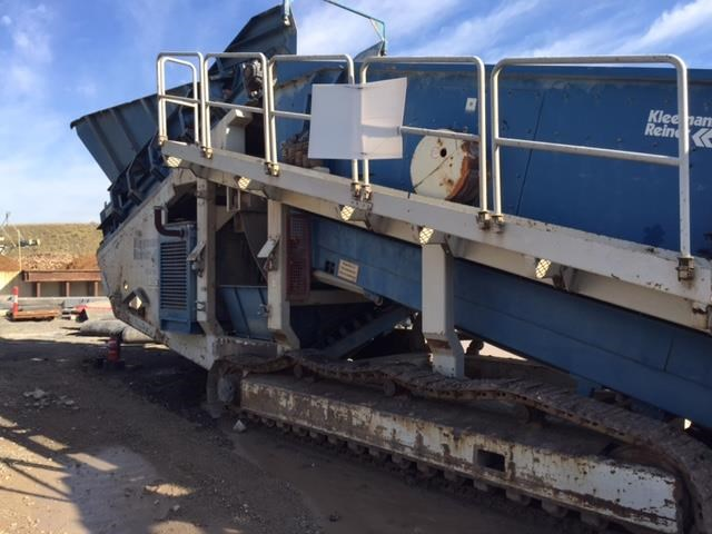 kleemann crushing & screening mobile plant 501420 009