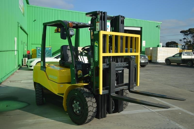 agrison 3 tonne forklift - 3 stage cont. mast - nationwide delivery 505628 013