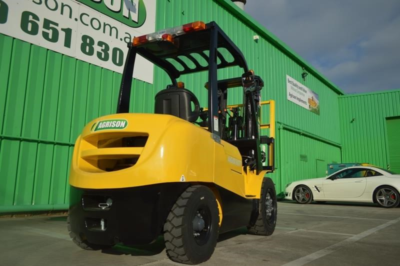 agrison 3 tonne forklift - 3 stage cont. mast - nationwide delivery 505628 023