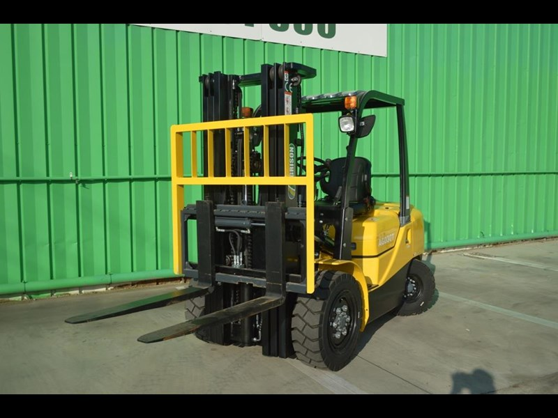 agrison 3 tonne forklift - 3 stage cont. mast - nationwide delivery 505629 005